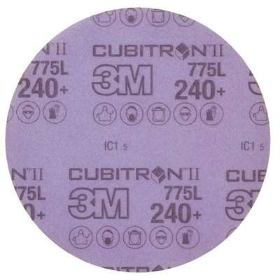 3M Cubitron II Hookit Film Disc 775L 150 mm No Hole