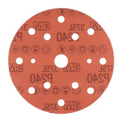 3M Hookit Film Disc 375L 15 Hole 150mm (Box of 50)