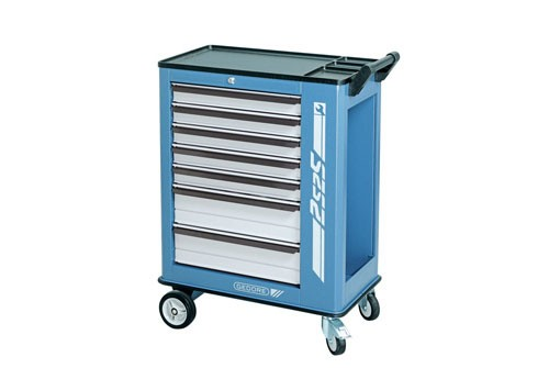 Gedore Tool Trolley With 7 Drawers