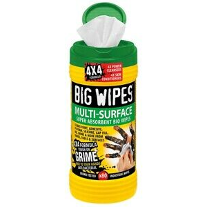 Big Wipes 4x4 Multi-Surface Cleaning Wipes (tub of 80)
