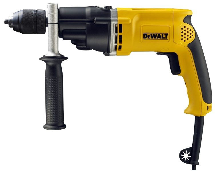 D21805KS DeWalt 770 W  Percussion Drill with Keyless Chuck & Kitbox