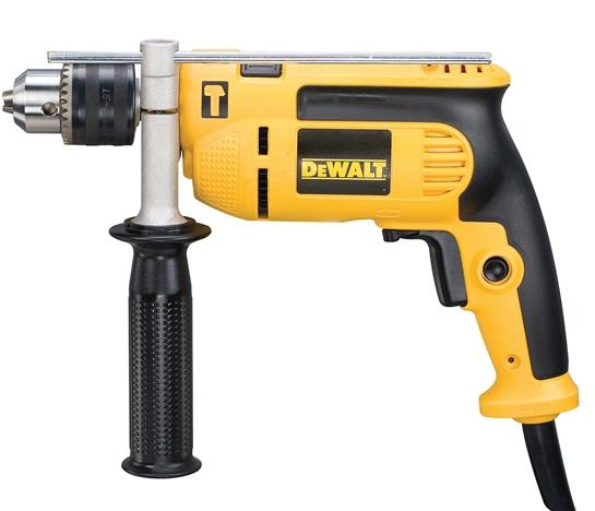 DWD024K DeWalt Percussion Drill 13mm + Kitbox 650 Watt