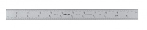 "Mitutoyo 182-121 12"" Steel Rule Rigid"