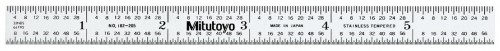 "Mitutoyo 182-205 150mm/6"" Steel Rule Flexible"
