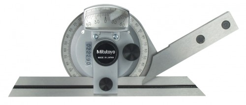 "Mitutoyo 187-907 Univ.Bevel Protractor 6""/150mm Blade"