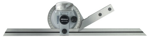 "Mitutoyo 187-908 Univ.Bevel Protractor 12""/300mm Blade"