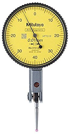 Mitutoyo 513-474E Dial Test Indicator .8/.01mm with Ruby Tip