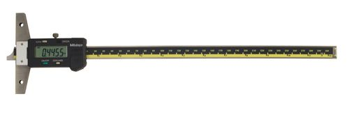 "Mitutoyo 571-213-10 Digimatic Depth Gauge 0-12""/300mm .01mm/.0005"