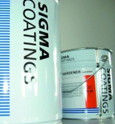 SigmaCover 2 Two Component Ultra High Solids Epoxy Coating 4L
