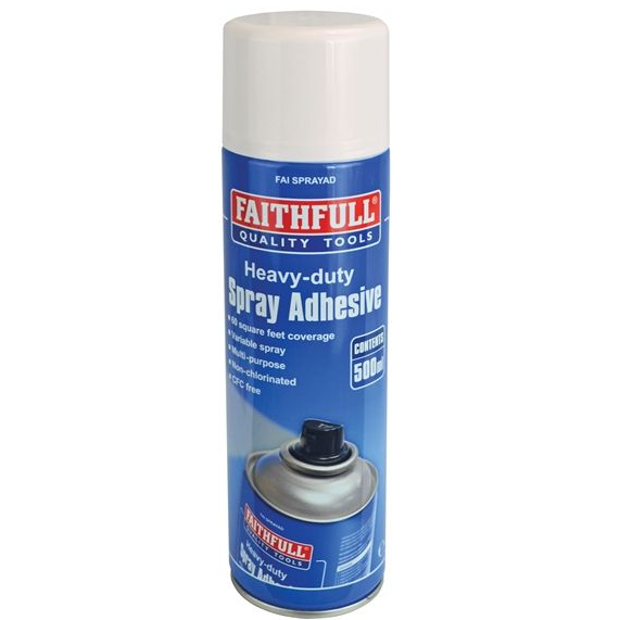 Spray Adhesive Non-Chlorinated 500ml